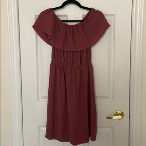 Aritzia Wilfred Off The Shoulder Dress *as is*